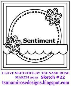 card sketch by #tsunamirose