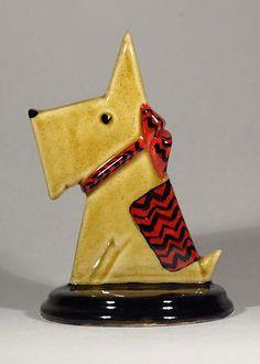 Art Deco Echo of Deco Scottie Dog