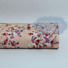 Tissu japonais Sakura rose.