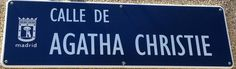 Calle Agatha Christie. Distrito Hortaleza. Madrid.