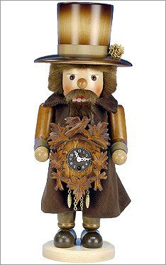 Alexander Taron Importer 0763  Christian Ulbricht Nutcracker  Clockmaker with Keywound Clock  17H x 65W x 65D -- Find out more about the great product at the image link. #XmasSeasonalDcor