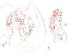 I wonder If I will ship them in ACOMAF, although I still pretty badly ship Feyre and Tamlin.  ACOTAR