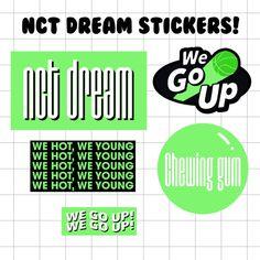 Pop Stickers, Wallpaper Stickers, Tumblr Stickers, Printable Stickers, Logo Sticker, Sticker Design, Kpop Diy, Overlays Tumblr, Blue Aesthetic Pastel