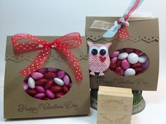 The Paper Hen: Fast, Easy Valentine Stampin Up Treats ... Lots of projects at my blog: www.thepaperhen.blogspot.com