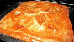 Κοτόπιτα με τυριά, αμύγδαλα και σταφίδες - gourmed.gr