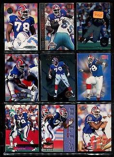 nice P1485 - 18 ct lot Bruce Smith Buffalo Bills Football Cards Rookie Inserts MINT - For Sale View more at http://shipperscentral.com/wp/product/p1485-18-ct-lot-bruce-smith-buffalo-bills-football-cards-rookie-inserts-mint-for-sale/