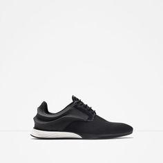 (Got!) - SNEAKERS WITH CURVE DETAIL from Zara