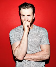 chris evans | i appreciate everything about this portrait pic