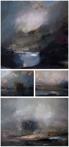 Sahin Karakoc - Landscape Paintings #ART