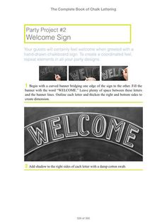 Image result for chalk lettering book Chalk Lettering, Chalkboard Signs, Books, Projects, Image, Log Projects, Libros, Blue Prints, Book