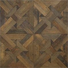 "Exquisite Surfaces antique french oak, ""chaumont"" pattern"