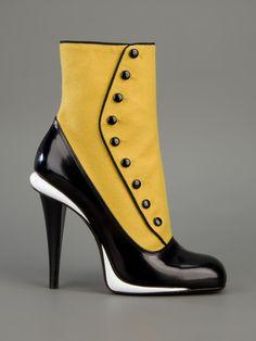 FENDI | Spats Style Boot
