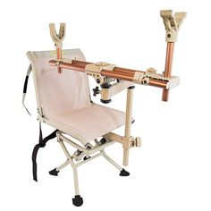Pod Chair Swivel 360 Degrees True Bench Rest Accuracy Supports Any Gun  Crossbow #Caldwell