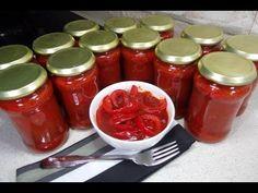 Reteta Gogosari in sos tomat - YouTube Vegetables, Youtube, Recipes, Food, Canning, Vegetable Recipes, Eten, Veggie Food, Recipies