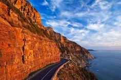 Chapmans Peak Sunset Landscape | Chapmans Peak, Cape Town, Western Cape, South Africa