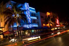 South Beach, Miami, Florida - one night ought to do it