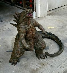Custom-built 5-foot tall Godzilla 2014 Statue (Not made by me...) - Album on Imgur