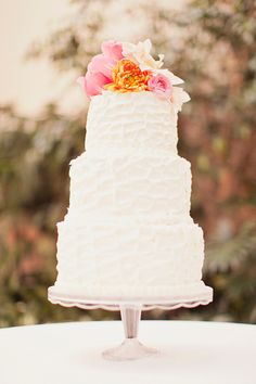 pretty cake with flowers!