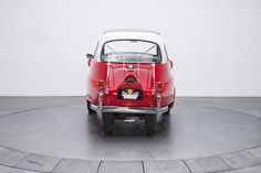 1958 BMW Isetta 300 Ground Up Restored Isetta 300 298cc 4spd stock # 135972 body style Coupe engine 298cc exterior color Red & White interior color Black & Red miles 20916 PRICING WITH: SEAL OF APPROVAL $42,900 WITH TRADE $42,000 BOTTOM LINE AS-IS $40,000  $ USD   Calculate Shipping TRADE IN A VEHICLE Trade Vehicle WHY BUY FROM US ? Why Buy SEE ALSO these cars might interest you  1960 Volkswagen Kombi 23 Window Bus $159,900  1957 Ford Thunderbird $59,900  1957 Ford Fairlane 500 Sunliner…