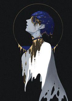 "-古陵- on Twitter: ""#宝石の国 #フォスフォフィライト 宝石の国 フォスフォフィライト -朝圣者- 啊,在黯淡的月亮中。 不惜溃烂,也要去追逐。… "" Character Inspiration, Character Art, Character Design, Illustrations, Illustration Art, Dibujos Dark, Dark Fantasy Art, Animes Wallpapers, Aesthetic Art"