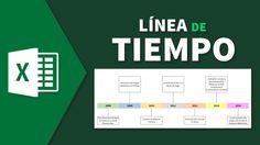 Cómo hacer una linea de tiempo fácil con excel en español