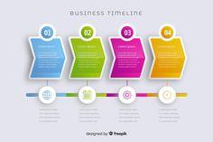 Marketing set of steps infographic timeline Free Vector Circle Infographic, Infographic Powerpoint, Timeline Infographic, Free Infographic, Infographic Templates, Infographics Design, Corporate Design, Business Design, Software