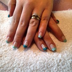 Supernail progel gel polish free hand nail art x