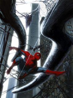 gabriele dell'otto : spider man poster activision Comic Art