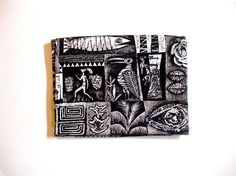 Aaron Bohrod Pagan Magic Remnant 1952 associated american artists, black and white colorway. Vintage Interior Design, Art Sketchbook, Needle And Thread, American Artists, Decorative Objects, Pagan, Journals, Passion, Black And White