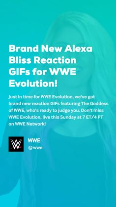 Just in time for WWE Evolution, we've got brand new reaction GIFs featuring The Goddess of WWE, who's ready to judge you. Don't miss WWE Evolution, live this Sunday at 7 PT on WWE Network! Wwe Gifs, Evolution, Bliss, Lol, News, Videos, Funny, Funny Parenting, Hilarious