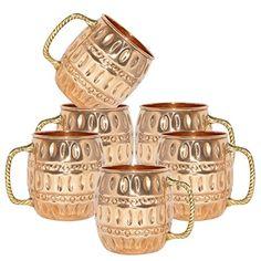 AsiaCraft 100 % Pure Copper Barrel Moscow Mule Mug Set of 6, Capacity 18.59 oz AsiaCraft http://www.amazon.com/dp/B01A1X5WLM/ref=cm_sw_r_pi_dp_IXeXwb17R5QJ0