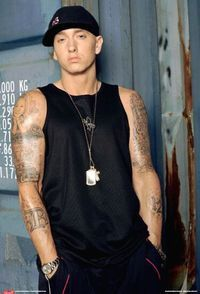 eminem.. my favorite rapper..