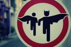 Batman and robin Crossing