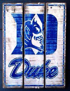 Duke Wood Sign