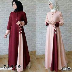 Batik Fashion, Abaya Fashion, Fashion Dresses, Abaya Designs Latest, Muslim Long Dress, Simple Long Dress, Hijab Style Dress, Dress Design Sketches, Muslim Women Fashion