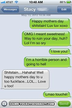 Happy Mother's Day! LOL