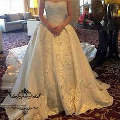Vintage Ivory Lace Overskirts Wedding Dress 2017 Sweetheart Sleeveless Corset Ball Gown Custom Fit Long Train Women Bridal Gowns
