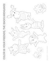 Backyardigans coloring page