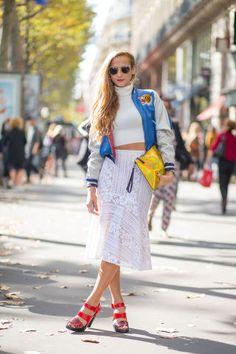 Paris Street Style Spring 2015 - Best Street Style Paris Fashion Week