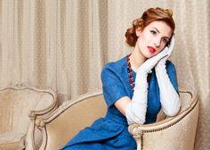 Trucco sposa vintage: semplicemente meraviglioso.  Foto di Rossana Deiana Make up artist http://www.matrimonio.com/trucco-sposa/rossana-deiana-make-up-artist--e85969