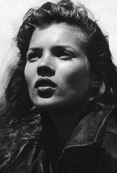 Kate Moss by Bruce Weber, 1992
