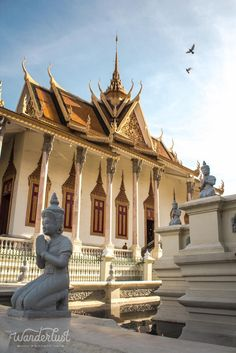 At the Silver Pagoda, Phnom Penh. Laos, Travel Ideas, Travel Inspiration, Tonle Sap, Khmer Empire, Cambodia Travel, Holiday 2014, Phnom Penh, Royal Palace