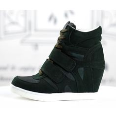 basket femme montante compense daim cuir noir scratch retro high top sneakers fashion mode 2012 2013 ref55.jpg