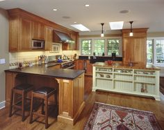 Kitchen Kitchen Peninsula Design, Pictures, Remodel, Decor and Ideas - page 2