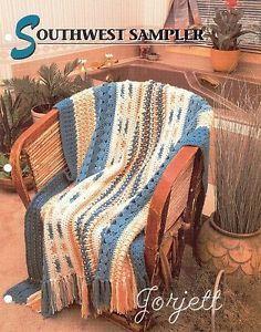 Southwest Sampler Afghan Annie's Crochet Pattern   eBay
