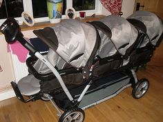 Peg Perego Triple pram/stroller |