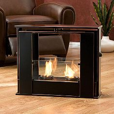 grandinroad- Portable indoor-outdoor fireplace- Love this!!