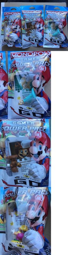Game Pieces Parts 7317: Nintendo Monopoly Gamer Power Pack - Rosalina, Wario, Tanooki Mario -> BUY IT NOW ONLY: $31.99 on eBay!
