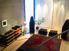 Listening room at Kakinokizaka