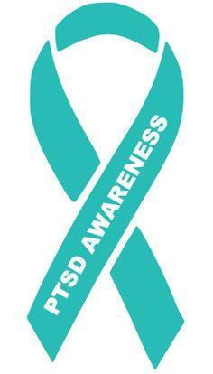 PTSD Awareness Decal by evanchandlerdesigns on Etsy
